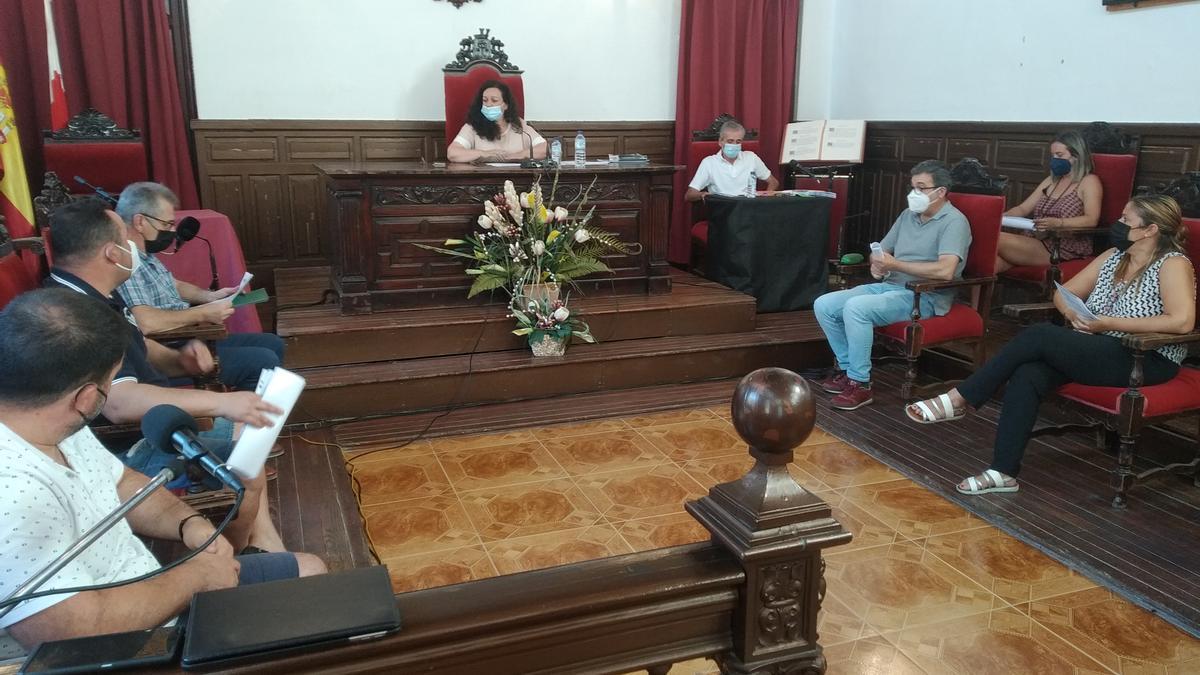 Pleno de este 29 de julio en Alburquerque