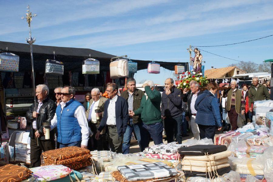 Feria del burro en San Vitero y romería