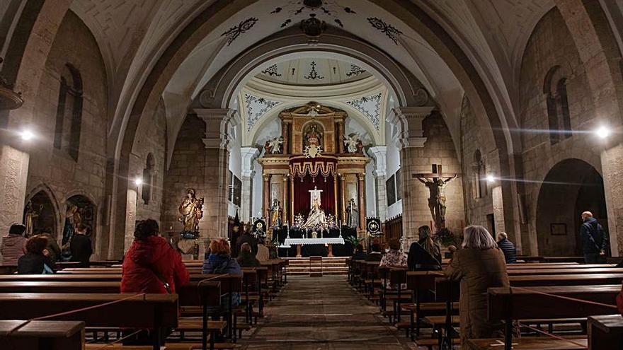 La Cofradía de Nuestra Madre de las Angustias inicia su Novenario en Zamora