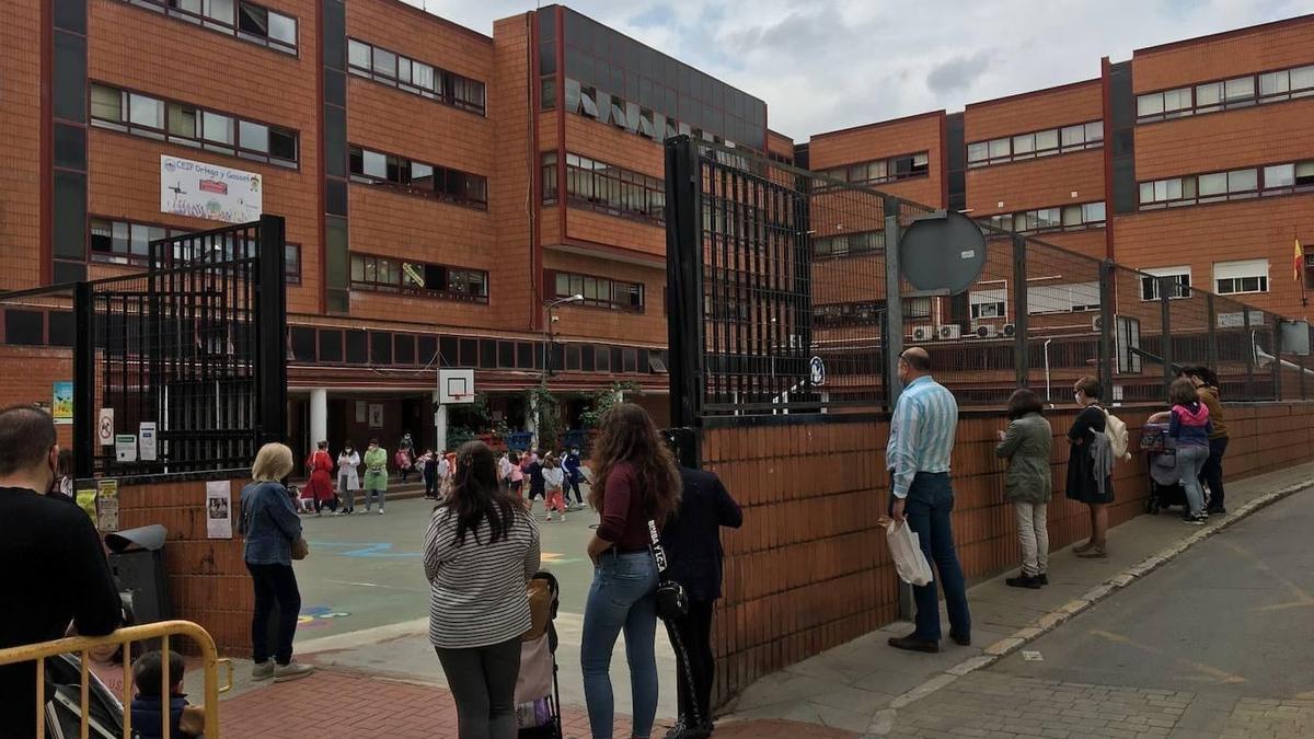 Actual edificio del colegio Ortega y Gasset