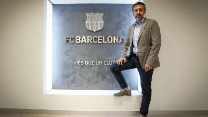 """Bartomeu diu que no deixa la presidència del Barça """"per responsabilitat"""""""