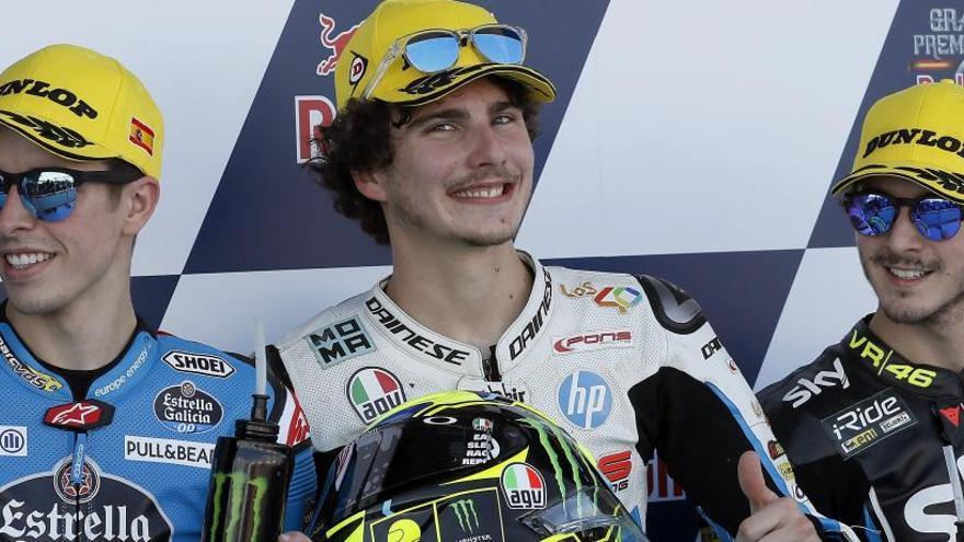 Moto2: Baldasarri saldrá primer en Jerez