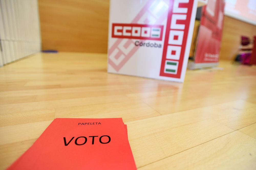 Marina Borrego pretende hacer de CCOO la primera fuerza sindical de Córdoba