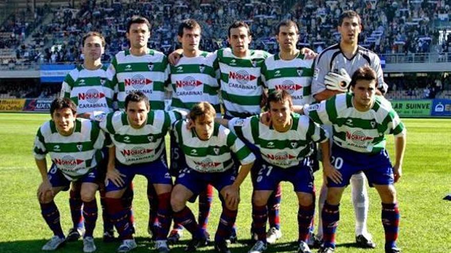 Garitano Company d'Iraizoz a l'Eibar 2004-05
