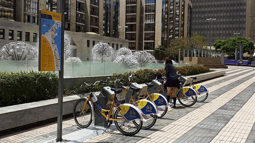 El Consistorio refuerza el servicio de bicicletas con 100 nuevas unidades