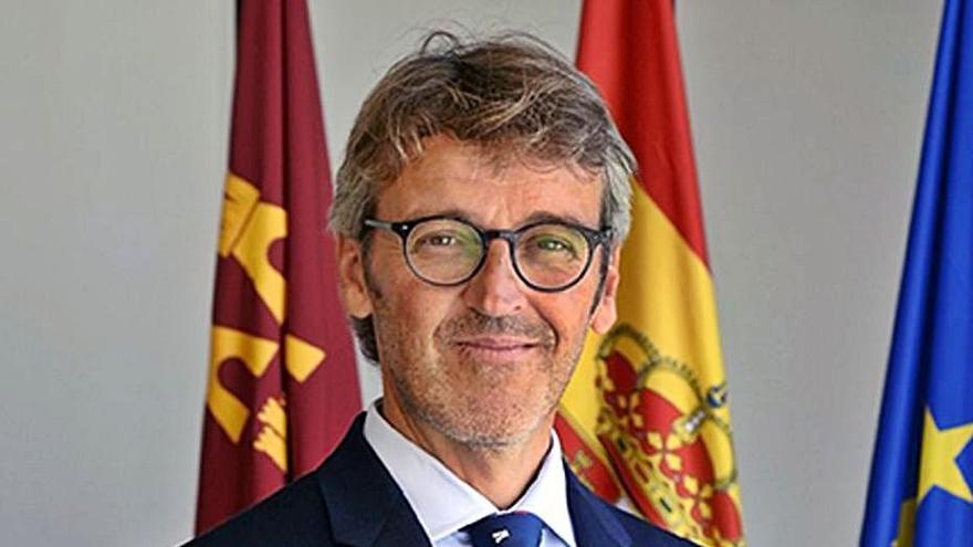 El 'número 2' de Celdrán, Luis Alberto Marín, nuevo consejero de Hacienda