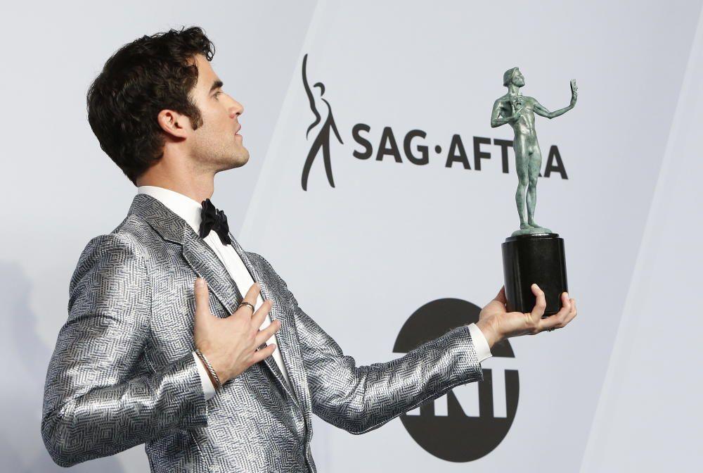 """Premios del Sindicato de Actores: Darren Criss, premiado por """"El asesinato de Gianni Versace"""""""
