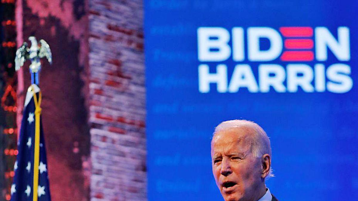 Biden, en un acto en su feudo de Wilmington (Delaware).