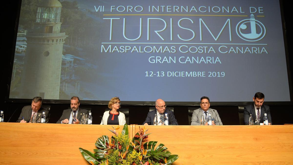 Inauguración del VII Foro Internacional de Turismo de Maspalomas