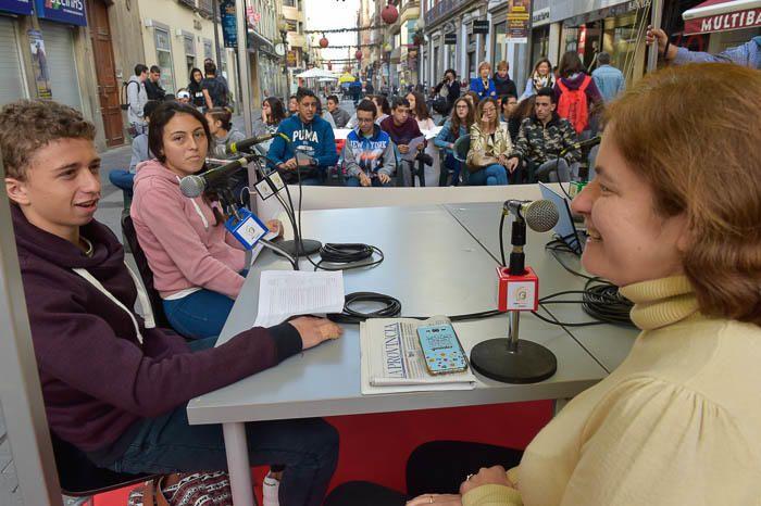 """Jornadas de radio """"De Palique"""", en la calle Triana"""