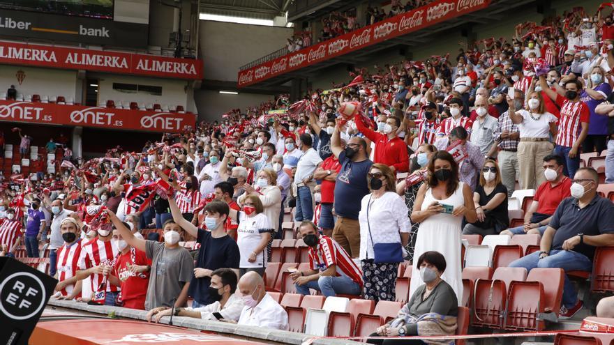 Los abonados del Sporting podrán sentarse en sus asientos el domingo