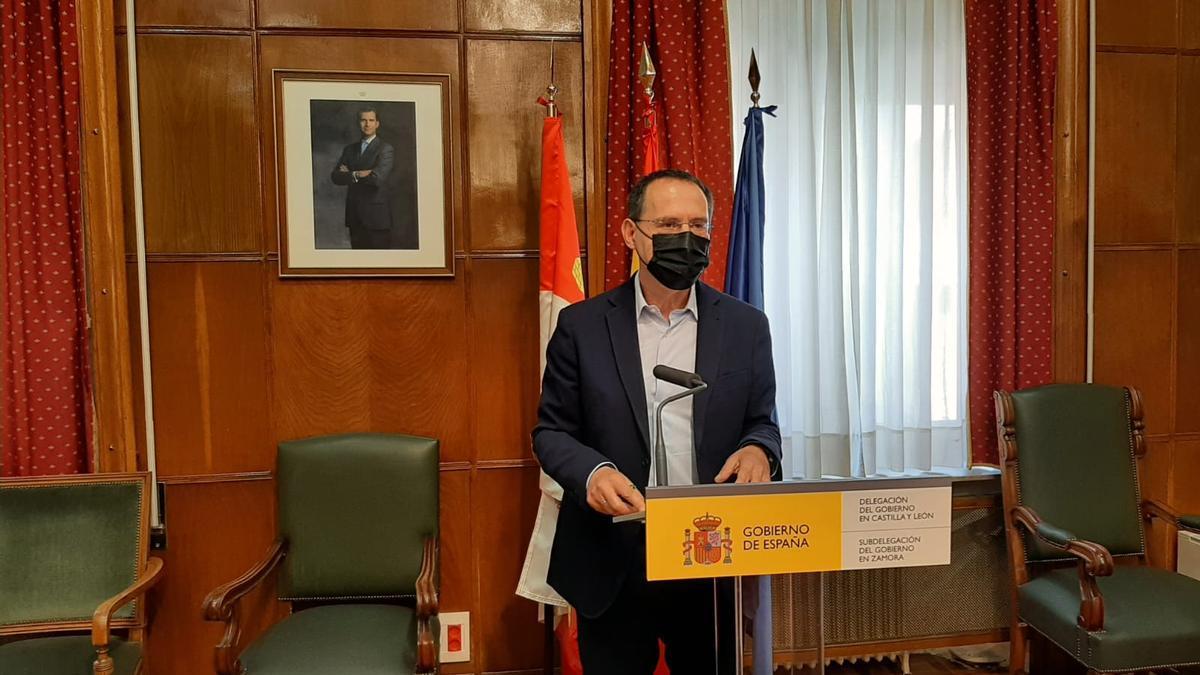 El subdelegado del Gobierno, Ángel Blanco.