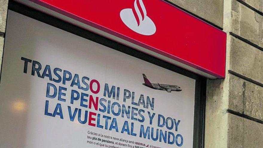 La banca se vuelca ya en la campaña de pensiones ante el cambio de fiscalidad