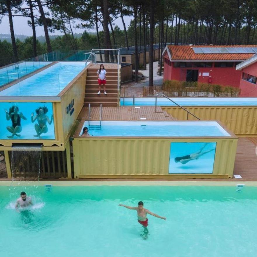 La piscina más alta y grande de Europa, muy cerca de Vigo