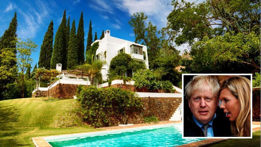 La prensa británica carga contra Boris Johnson por sus vacaciones en la Costa del Sol