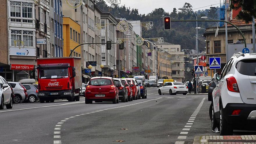 El plan de movilidad prevé limitar el tráfico y cambiar direcciones en el núcleo de Arteixo