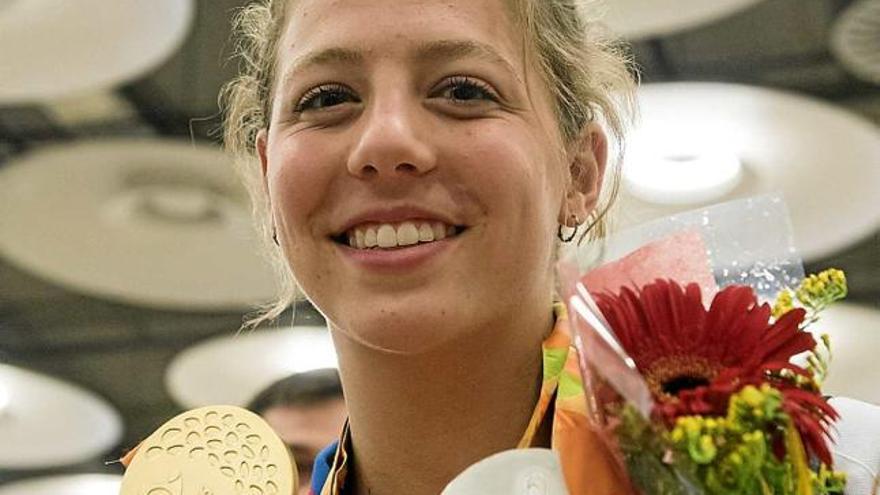 Núria Marquès i Ignasi Ávila tornen de Rio lluint les seves medalles