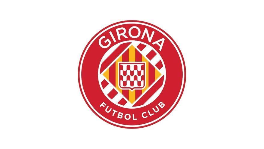 El Girona presenta davant l'afició el nou escut