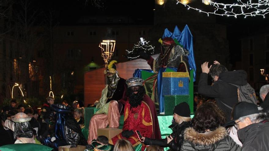 Visita dels Reis d'Orient a Puigcerdà
