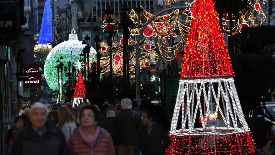 Llega un nuevo gigante de la Navidad a Vigo