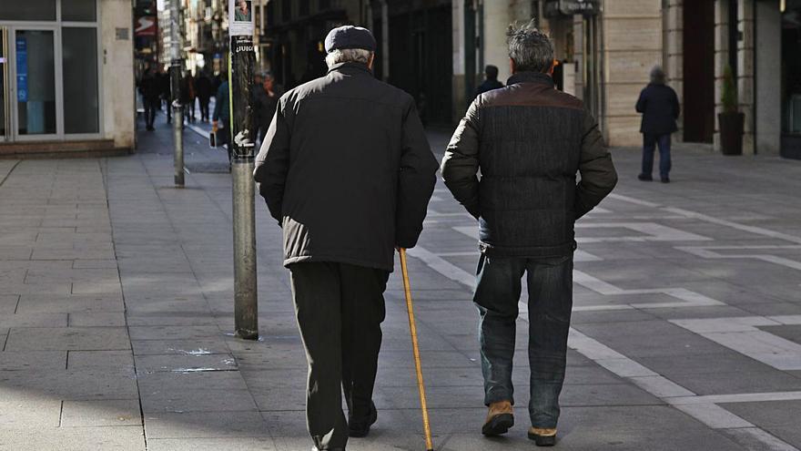 Las pensiones de los jubilados subirán nueve euros al mes a partir del año que viene