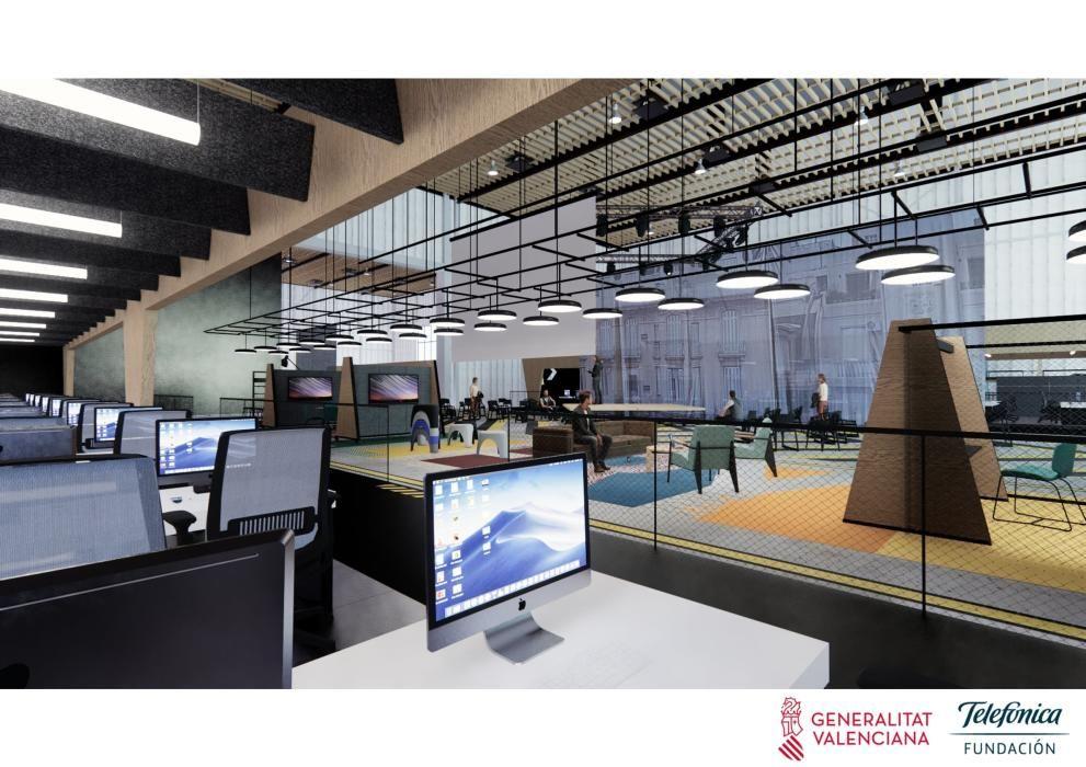 Telefónica transformará dos antiguos platós de Ciudad de la Luz en una escuela gratuita de programación, con un sistema educativo revolucionario.