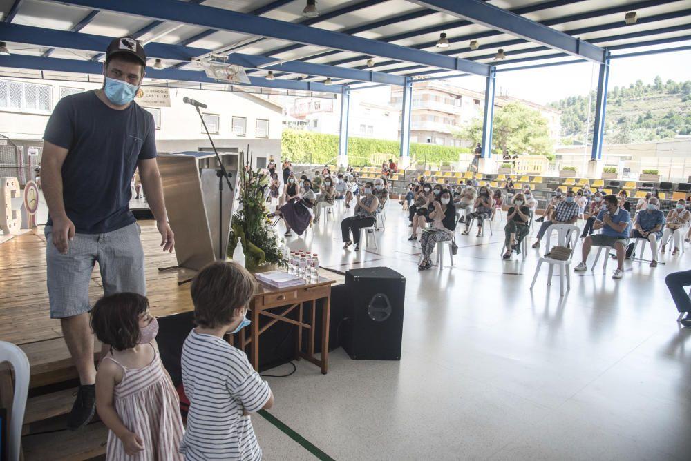 Sant Vicenç reconeix la feina dels voluntaris durant la crisi del coronavirus