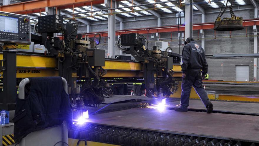 La rápida recuperación del metal asturiano: el 80% de las empresas crearán empleo