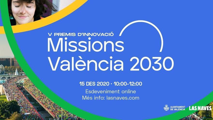 València reparte 700.000 euros en los premios y subvenciones de innovación Missions València 2030