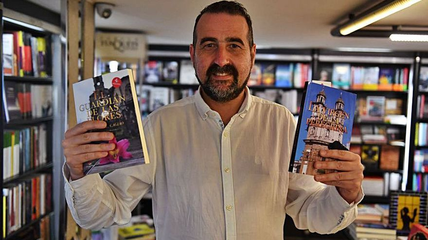 Rober L. Cagiao presenta el sexto libro de su saga