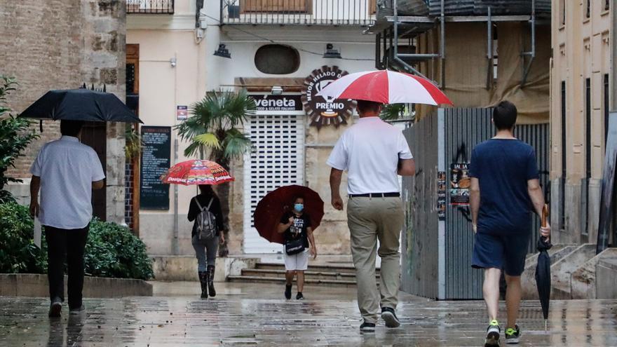 La amenaza de tormentas con granizo se extiende por casi toda Valencia