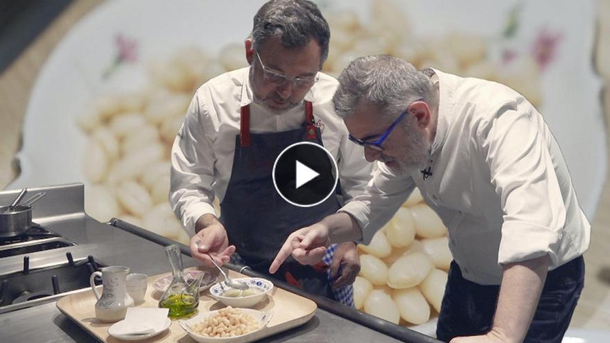 La receta de 'mongetes' con almejas de Albert Raurich