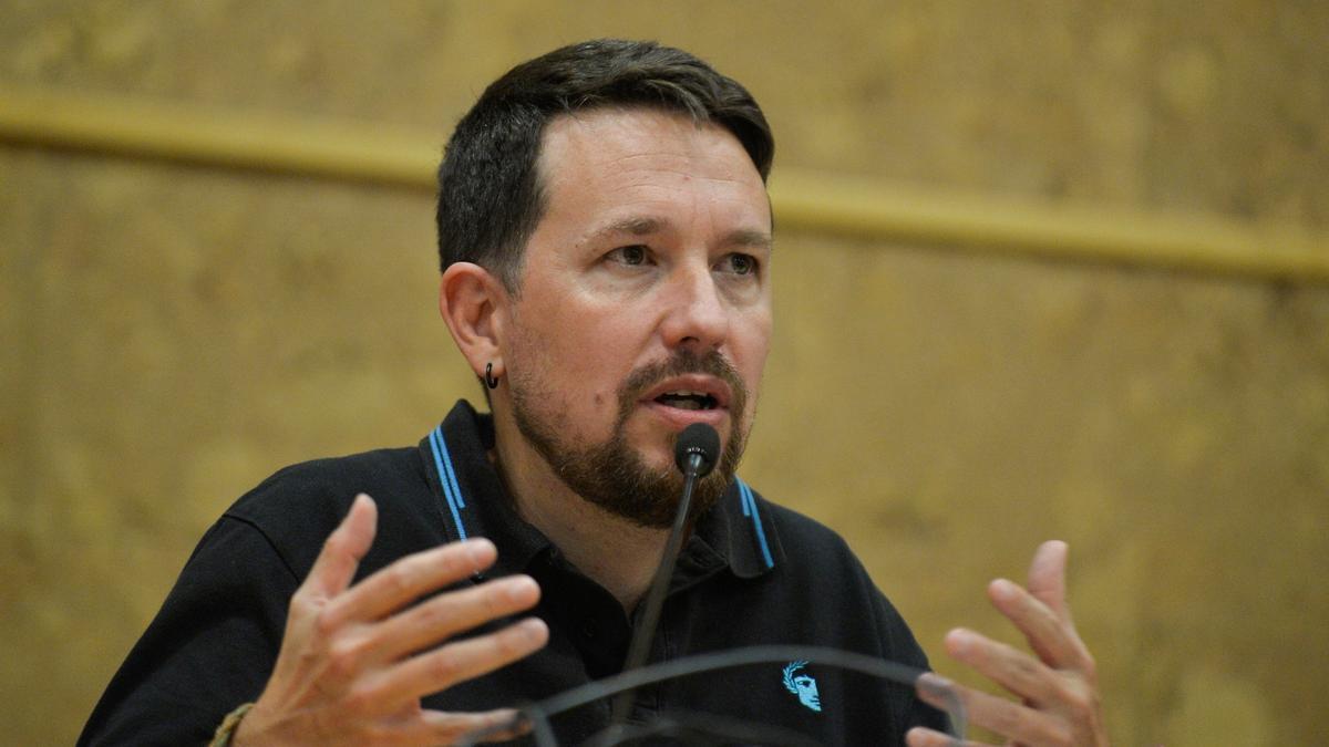 El exvicepresidente segundo del Gobierno y fundador de Podemos, Pablo Iglesias.