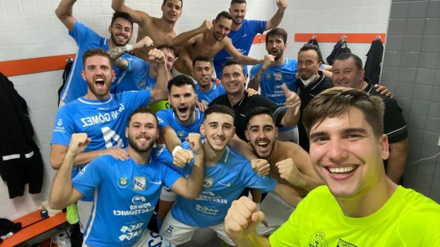 La UD Ibiza-Gasifred bendice a Garrido en Picassent con una nueva goleada