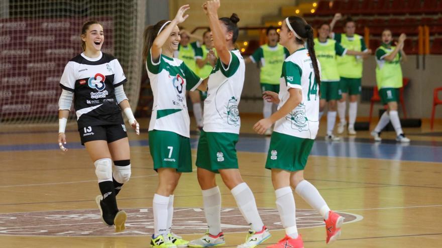 El Deportivo, uno de los dos únicos equipos imbatido de la Segunda de fútbol sala