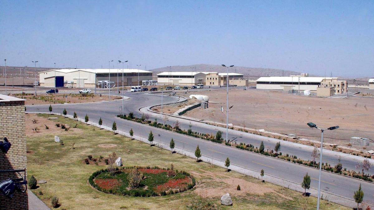 Natanz es una de las principales plantas de enriquecimiento de uranio de Irán.