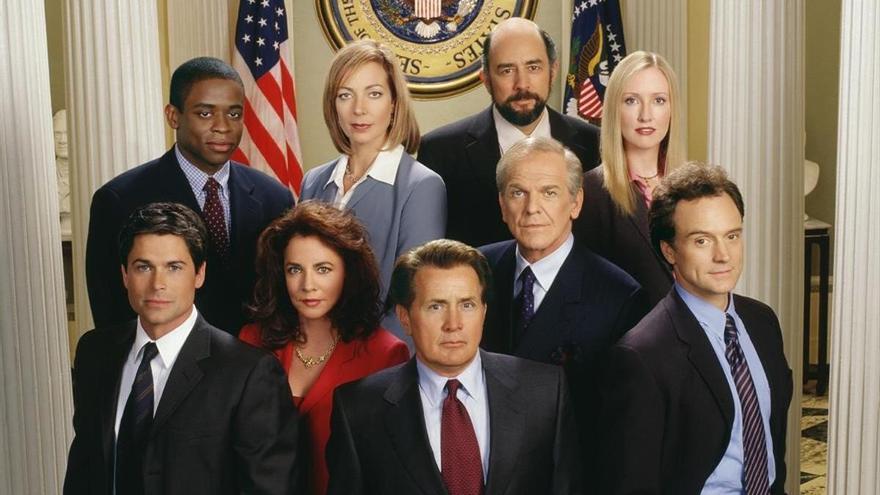 'El ala oeste de la Casa Blanca' reúne a su elenco para animar el voto en Estados Unidos