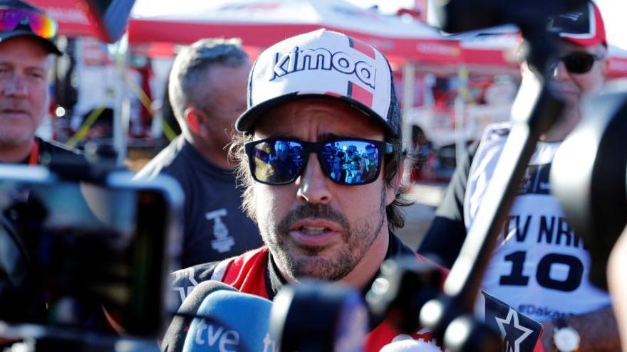Alonso i Coma perden dues hores i mitja en la segona etapa del Dakar