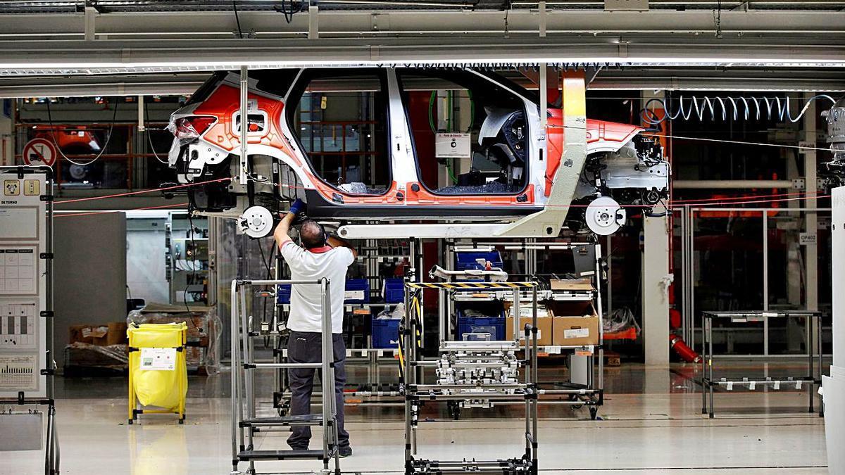 Treballadors a la planta de Seat a Martorell | REUTERS