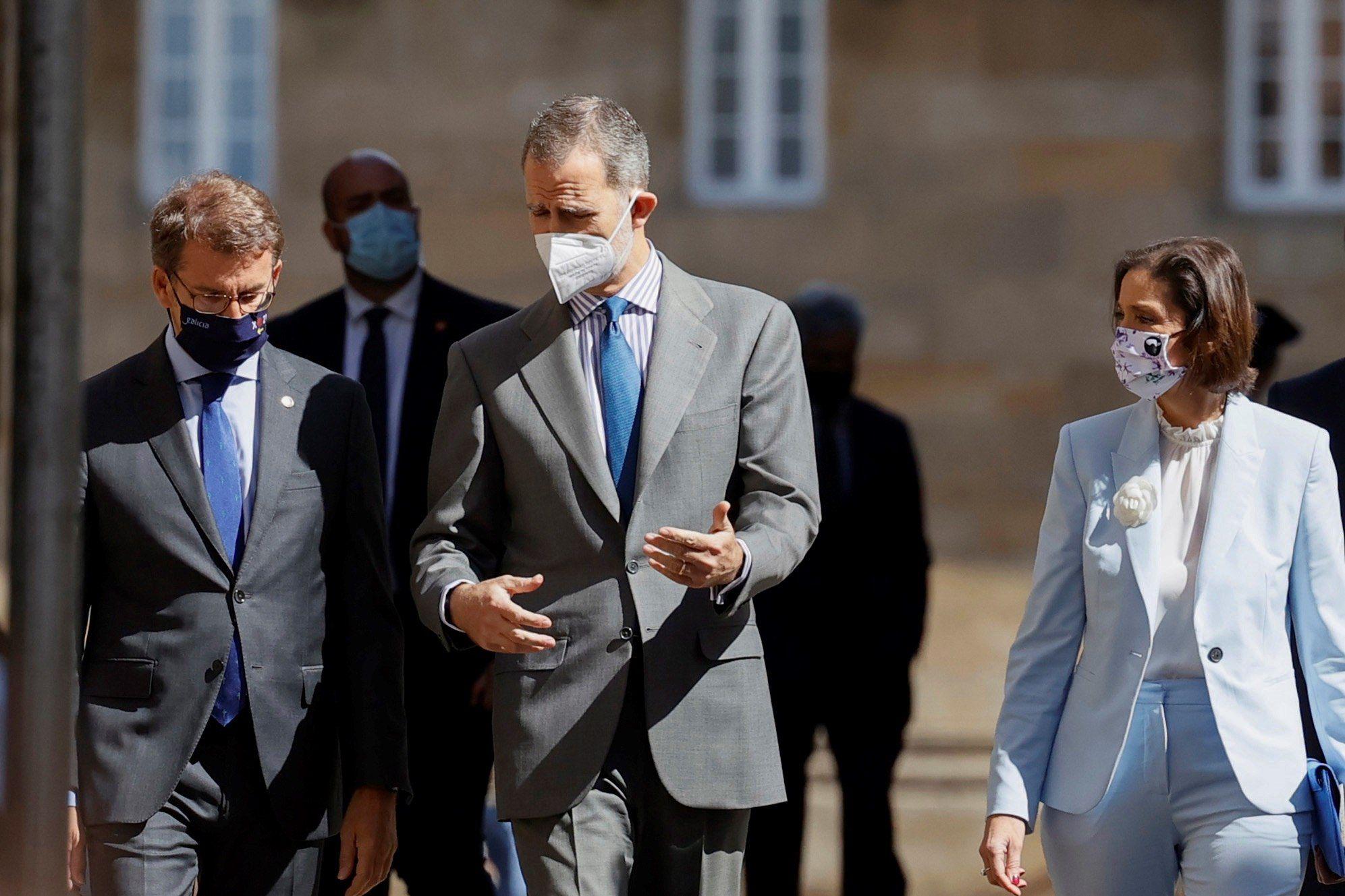 El Rey Felipe VI inaugura el I Congreso Mundial Xacobeo