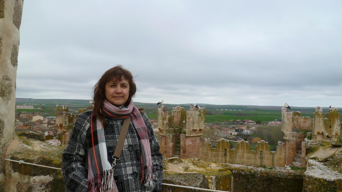 Juana Ruiz, la humanitaria española detenida por Israel.