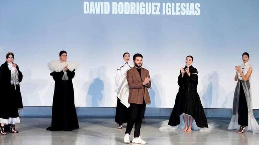 David Rodríguez Iglesias, un luanquín que ya desfila en la cumbre de jóvenes diseñadores