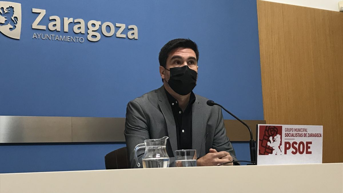 El concejal del PSOE en el Ayuntamiento de Zaragoza, Horacio Royo