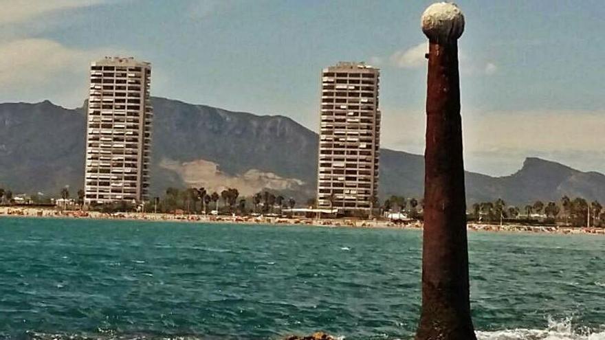 La icónica Penyeta del Moro     de Cullera cumple 160 años
