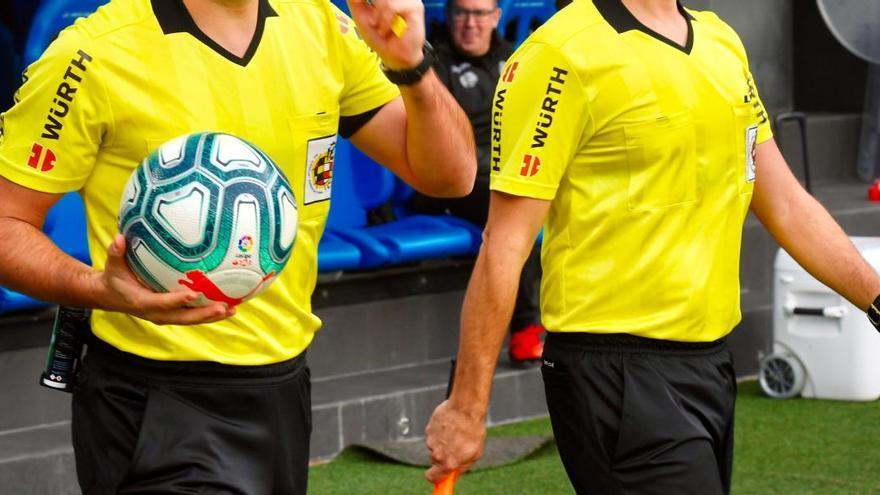 Los árbitros zamoranos Daniel Piñuel y Casimiro Miguel también luchan por el ascenso