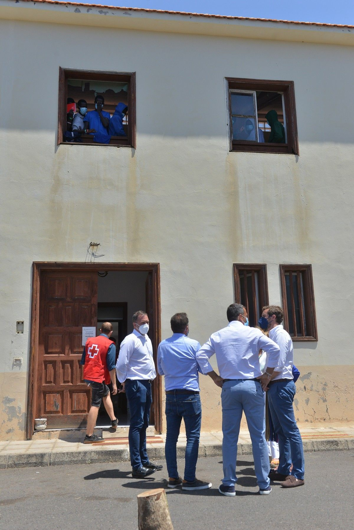 Visita de Pablo Casado a El Hierro