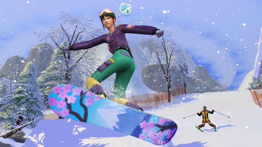 'Los Sims 4': los secretos de 'Escapada en la Nieve', su próxima expansión