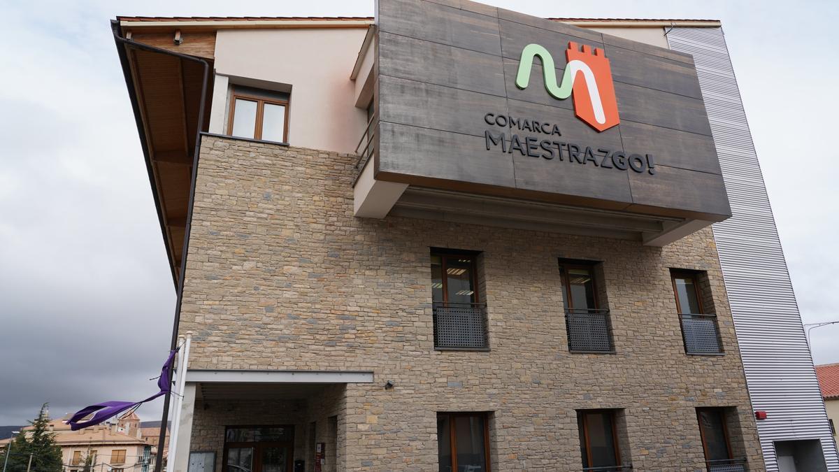 Sede de la Comarca del Maestrazgo.