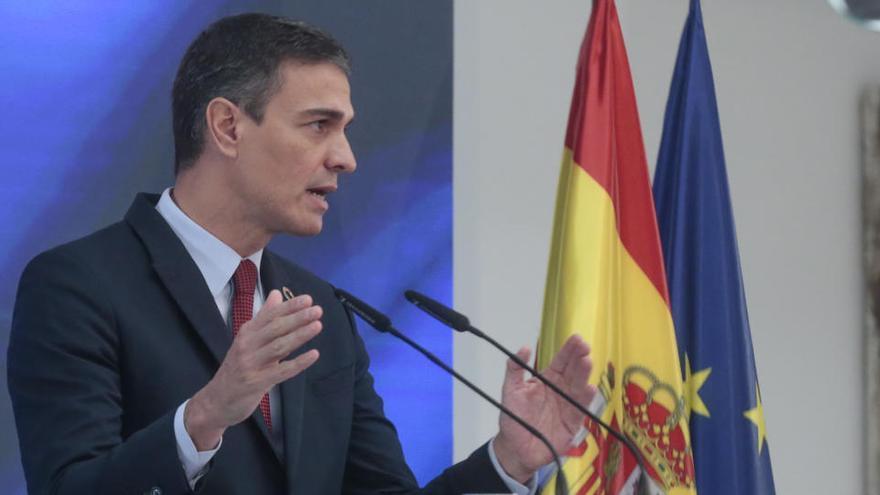 """Sánchez pide a Argelia """"tierra firme"""" para facilitar el comercio"""