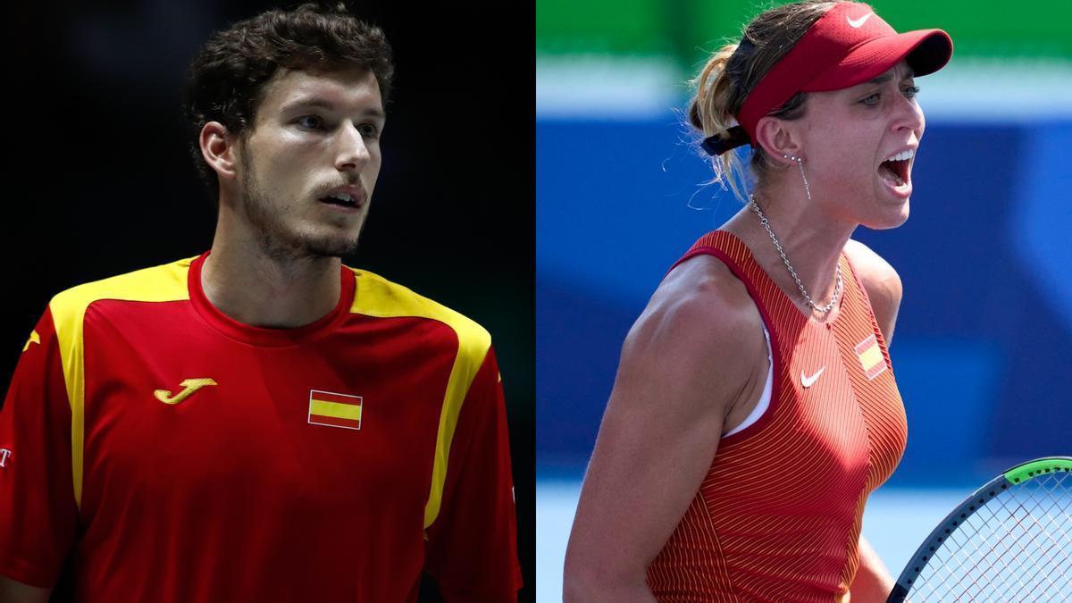 Pablo Carreño y Paula Badosa jugarán el dobles mixto.